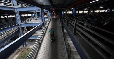 Nhà để xe 7 tầng và khu thương mại sầm uất trị giá 550 tỷ đồng ở sân bay Tân Sơn Nhất