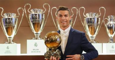 Ronaldo và bộ sưu tập 32 danh hiệu danh giá