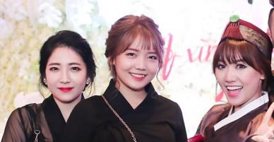 Em gái xinh đẹp của Hari Won gây chú ý sau đám cưới của chị