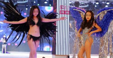 Cuộc thi người mẫu nhí Trung Quốc gây phản cảm vì diễn nội y