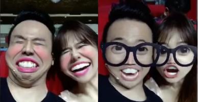 """Sao Việt 24h: Trấn Thành và Hari Won tiếp tục quay clip """"mặt xấu"""" khiến ai cũng cười rần rần"""