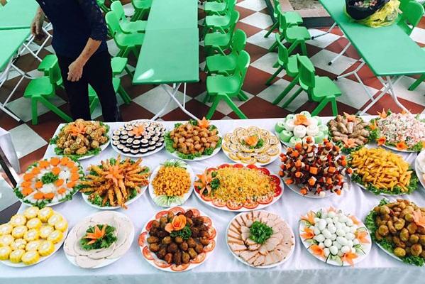 trung thu, buffet trung thu