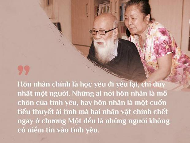 tình yêu, thầy Văn Như Cương và vợ
