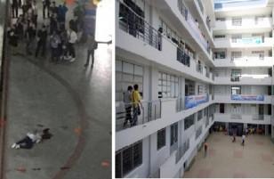 Mảng bê tông rơi trúng đầu khiến sinh viên tử vong ở trường Hutech thuộc công trình do trường quản lý?