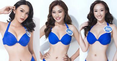 Thí sinh Hoa hậu Đại dương gợi cảm với bikini