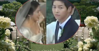 Tường thuật trực tiếp: Giờ G đã điểm, cô dâu Song Hye Kyo sánh đôi bên chồng tiến vào lễ đường