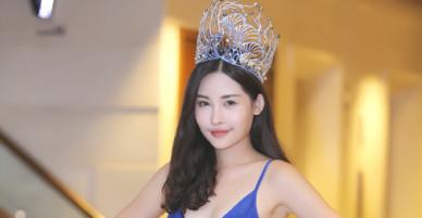 BTC Hoa hậu Đại dương 2017: Ngân Anh có vẻ đẹp tự nhiên