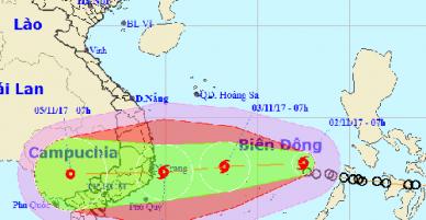 TP HCM lên phương án sơ tán dân đối phó bão Damrey