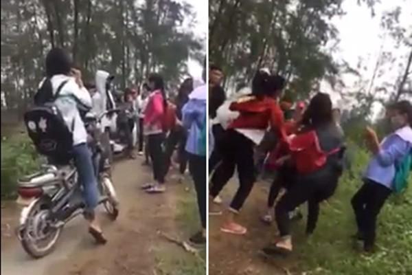 Vì một câu nói, 3 nữ sinh đánh đập dã man một bạn cùng lớp - Ảnh 1.