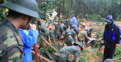 Thêm 5 người trong đó có 3 trẻ em bị sạt lở đất vùi chết ở Quảng Nam