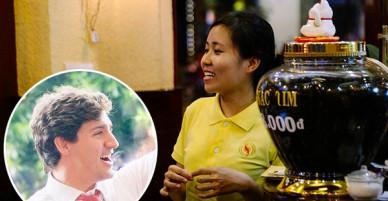 Quán cafe ở Sài Gòn mà Thủ tướng Canada ghé uống: Ông và người ngồi cùng bàn đều uống cafe sữa pha phin và khen ngon