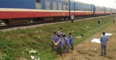 Hà Nam: Băng qua đường sắt không chú ý, 2 phụ nữ và một bé trai 10 tuổi bị tàu hỏa tông tử vong