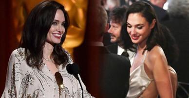 Angelina Jolie, Wonder Woman, Jennifer Lawrence cùng loạt siêu sao đọ sắc lộng lẫy tại lễ trao giải danh giá