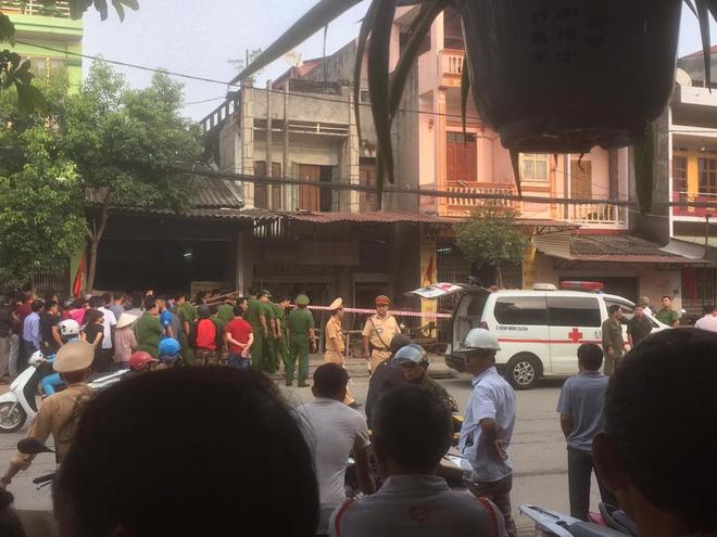 Vụ nổ ở Thái Nguyên: Công an nói do thuốc nổ, người nhà nói bị kẻ lạ gài mìn để trả thù cá nhân - Ảnh 2.