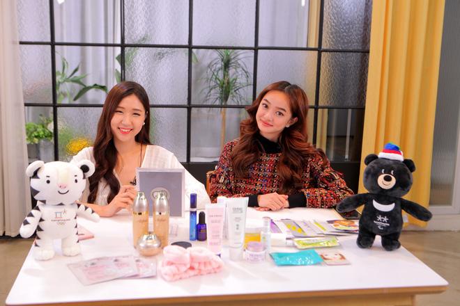 Clip khám phá Hàn Quốc siêu dễ thương của Kaity Nguyễn và hotgirl Ca sĩ giấu mặt Jin Ju - Ảnh 1.