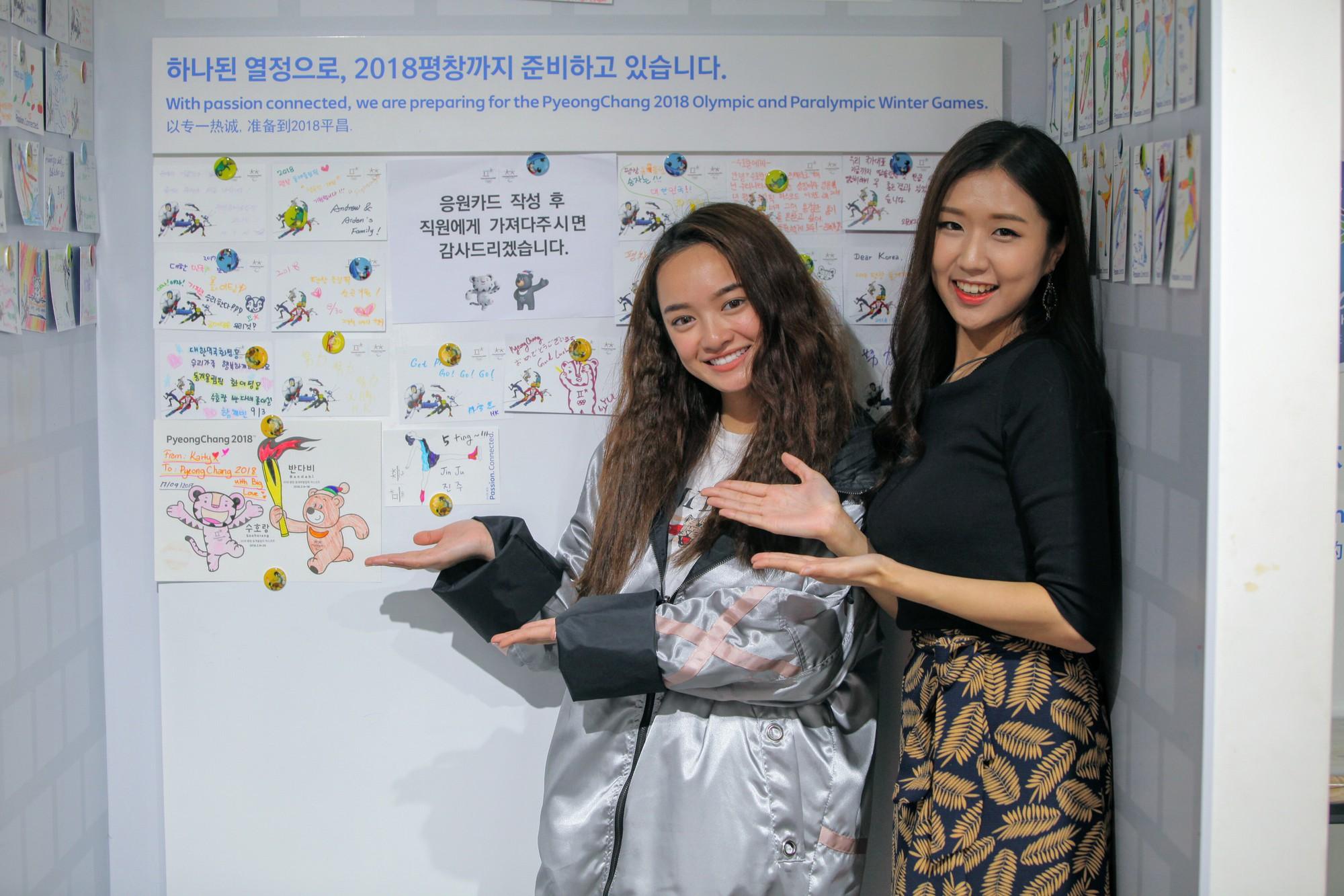 Clip khám phá Hàn Quốc siêu dễ thương của Kaity Nguyễn và hotgirl Ca sĩ giấu mặt Jin Ju - Ảnh 2.