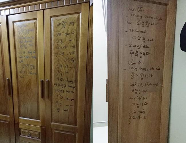 Con gái khoe mẹ U50 hiếu học nhất hệ mặt trời, dùng cả tường bếp làm bảng ghi từ mới, cấu trúc tiếng Anh - Ảnh 5.