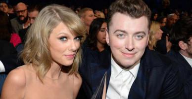 Ngoài mặt thân với Taylor Swift, nhưng Sam Smith và Reese Witherspoon vừa bị phát hiện ghét ngầm chị Rắn