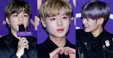 Trai đẹp Wanna One đồng loạt khoe mặt trắng loang lổ, nhưng kéo đến ảnh của Dispatch thì đúng là cạn lời