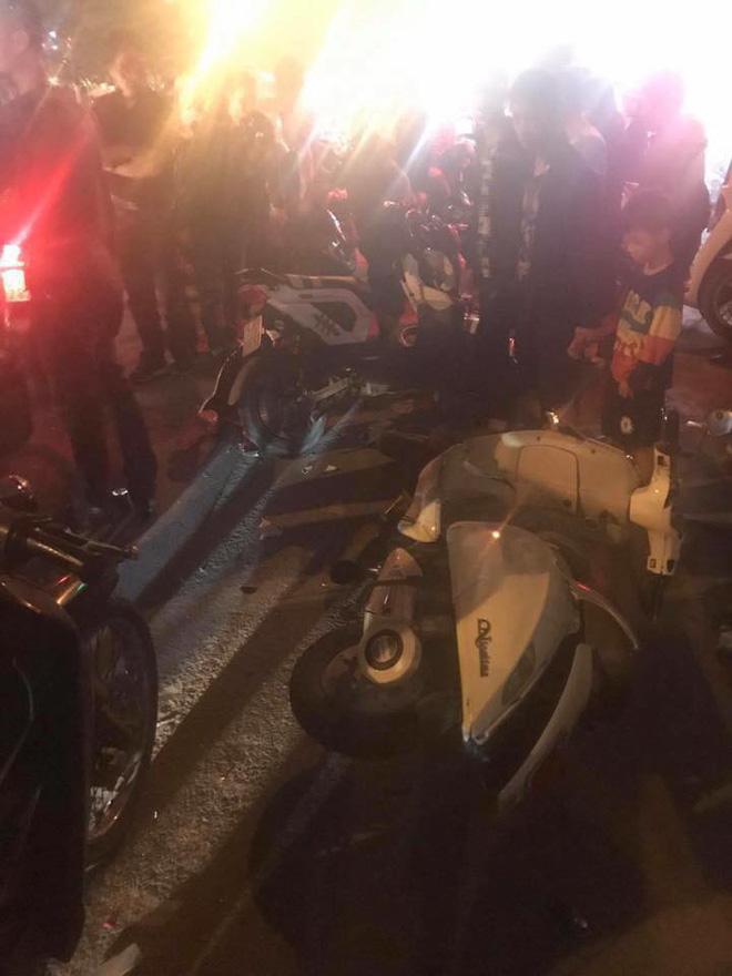 Triệu tập nam thanh niên 9X vừa hít bóng vừa lái xe gây tai nạn liên hoàn ở Hải Phòng - Ảnh 2.