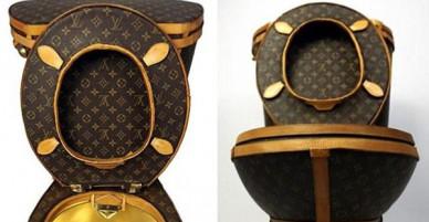 Túi rác, cưa máy, lựu đạn Louis Vuitton: Tất cả vẫn chưa xi nhê gì khi so với bồn cầu Louis Vuitton!