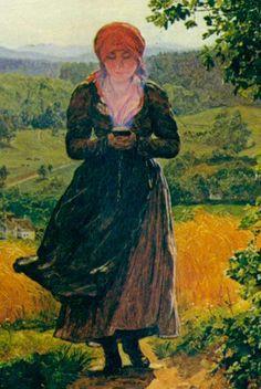 Sự thật sau bức tranh cô gái cầm smartphone năm 1860 khiến mọi người tranh cãi: Đi đâu cũng thấy xuyên không! - Ảnh 2.