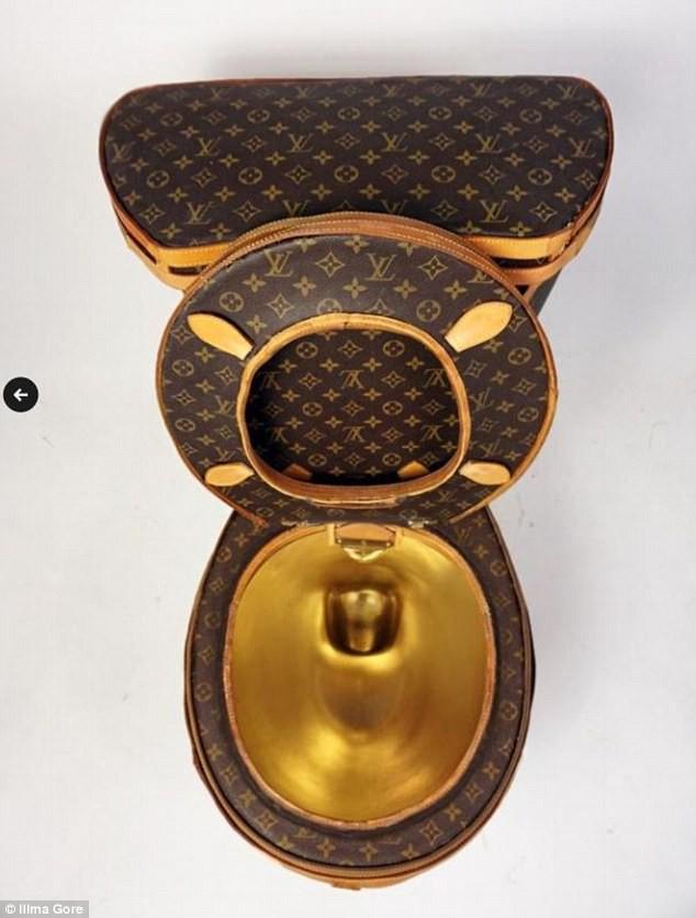 Túi rác, cưa máy, lựu đạn Louis Vuitton: Tất cả vẫn chưa xi nhê gì khi so với bồn cầu Louis Vuitton! - Ảnh 4.