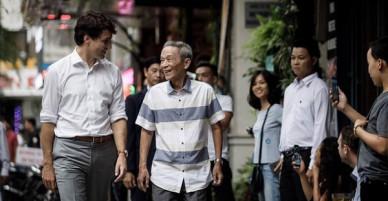 Người uống cafe cùng Thủ tướng Canada ở TP HCM: Ông ấy uống cafe rất ít, trà đá nhiều hơn