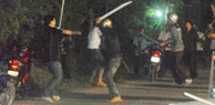 """Quảng Nam: Hai nhóm thanh niên dùng súng, mìn """"huyết chiến"""" như phim hành động"""