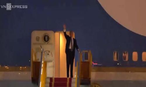Tổng thống Mỹ Donald Trump đến Hà Nội
