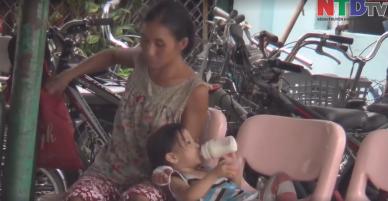 Bắt quả tang người phụ nữ pha thuốc ngủ vào sữa cho trẻ uống để lợi dụng xin tiền tiêm ma túy