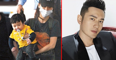 Huỳnh Hiểu Minh tức giận vì ảnh con trai bị phát tán tràn lan