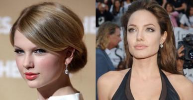 Khi mỹ nhân thế giới cũng tự ti về khuyết điểm xấu xí: Taylor muốn mắt to hơn, Angelina ước gì môi mỏng đi