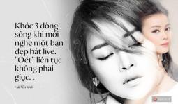 Không chỉ có Hương Tràm, hàng loạt ca sĩ nổi tiếng khác cũng không kiêng nể nói thẳng sự thật khi nghe Chi Pu hát live