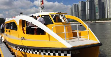 Người Sài Gòn được đi buýt sông miễn phí trong 10 ngày