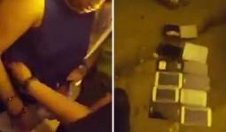 Clip: Bị bắt tại trận, nữ đạo chích buộc phải lôi ra 12 chiếc điện thoại trong... cạp quần