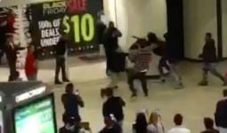 Tranh nhau đồ giảm giá ngày Black Friday, hội anh em hăng máu đánh nhau giữa trung tâm thương mại