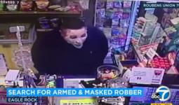 Chuyện vừa đáng sợ, vừa buồn cười: cầm súng lục, đeo... mặt nạ dưỡng da đi cướp