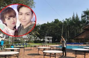 Độc quyền loạt ảnh: Hé lộ không gian tiệc cưới ngoài trời của Kelvin Khánh - Khởi My