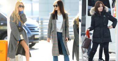 T-ara ngày càng sang chảnh, biến sân bay thành sàn diễn bên BTS và cựu Á hậu Hàn Quốc