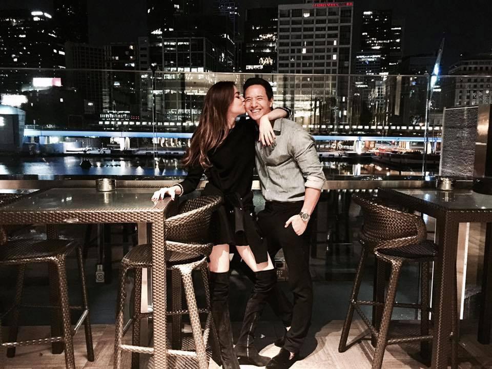 Cuối ngày sinh nhật, Hà Hồ bất ngờ nhận được lời chúc mừng ngọt ngào từ bạn trai Kim Lý - Ảnh 2.