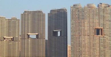 Bí mật thú vị đằng sau những lỗ hổng siêu to ngay giữa các ngôi nhà cao tầng ở Hồng Kông