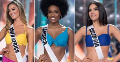 Top 10 Hoa hậu Hoàn vũ 2017 khoe dáng với bikini