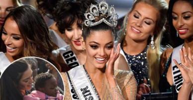 Tân Hoa hậu Hoàn vũ từng bị dọa giết, bắt cóc và bị chỉ trích vì nghi vấn kỳ thị trẻ em nhiễm HIV