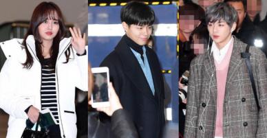 Park Bo Gum, Wanna One khiến sân bay vỡ trận, cùng Kim So Hyun và dàn thần tượng Kpop sang Nhật dự MAMA