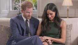 Harry quỳ gối cầu hôn với nhẫn làm từ hai viên kim cương của Diana
