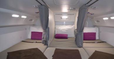 Nơi ngủ của phi công trên máy bay