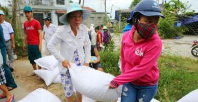 Tích cực hỗ trợ người dân khắc phục hậu quả thiên tai