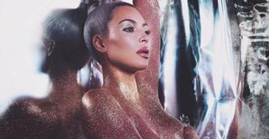 Kim Kardashian tung ảnh khỏa thân để quảng bá mỹ phẩm