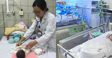 Nhiều bé sơ sinh Bắc Ninh xuất viện sau 10 ngày bị sốc nhiễm khuẩn